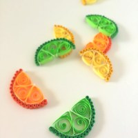 How to Make Quilling Paper Citrus Slices