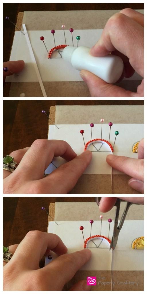 QuillingOrangeCitrusWedge How to Make Quilling Paper Citrus Slices