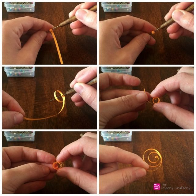 QuillingPaperCitrusWedgeMini How to Make Quilling Paper Citrus Slices