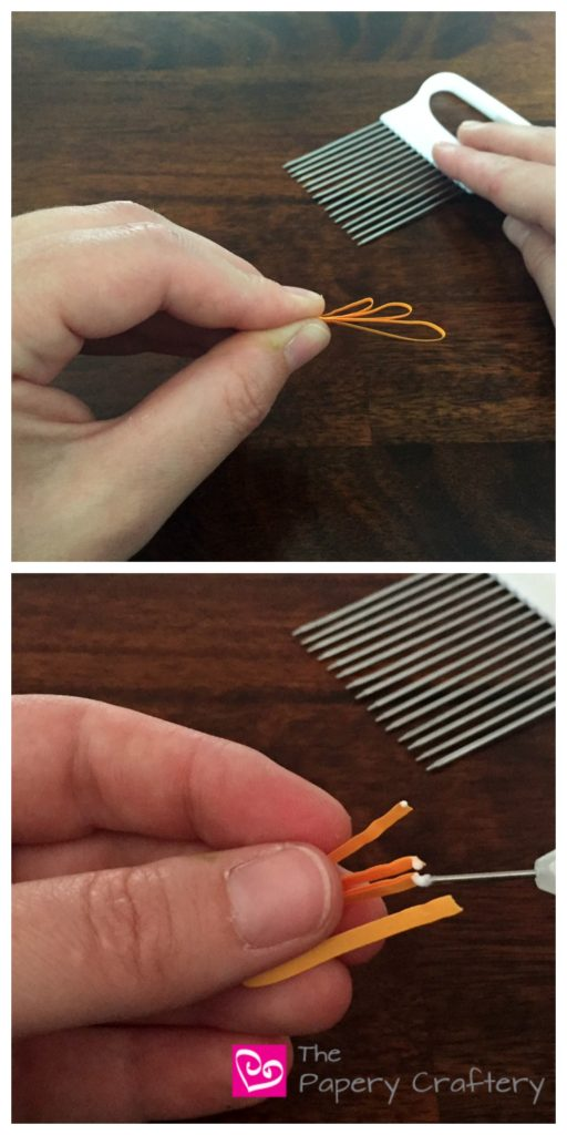 GluingQuillingPaperMumsPetals - How to Make Quilling Paper Mums
