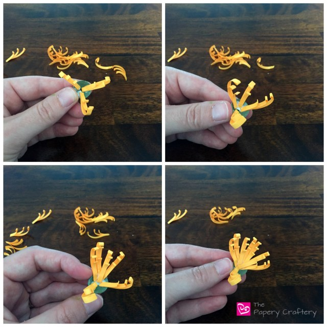 QuillingPaperMumsFlowers - How to Make Quilling Paper Mums