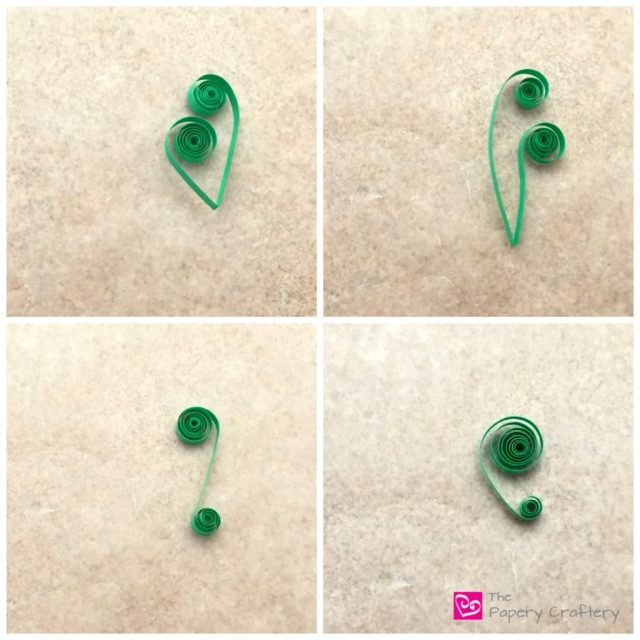 How to Make Quilling Paper Scrolls    Quilling Basics    www.thepaperycraftery.com
