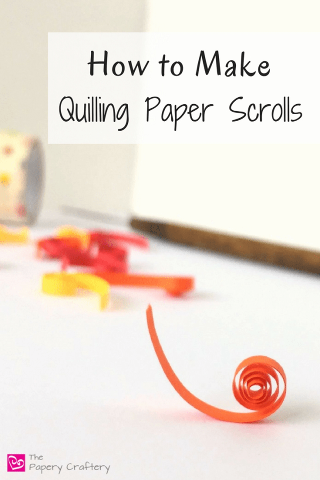 How to create quilling paper scrolls for the beginner quilling paper artist