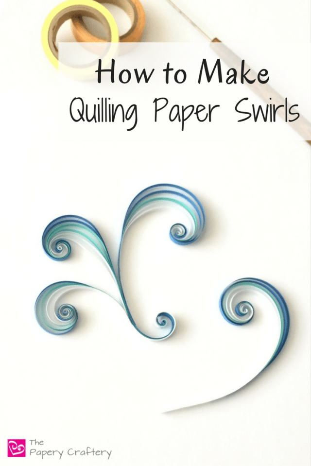 How to make quilling paper swirls for the beginner quiller