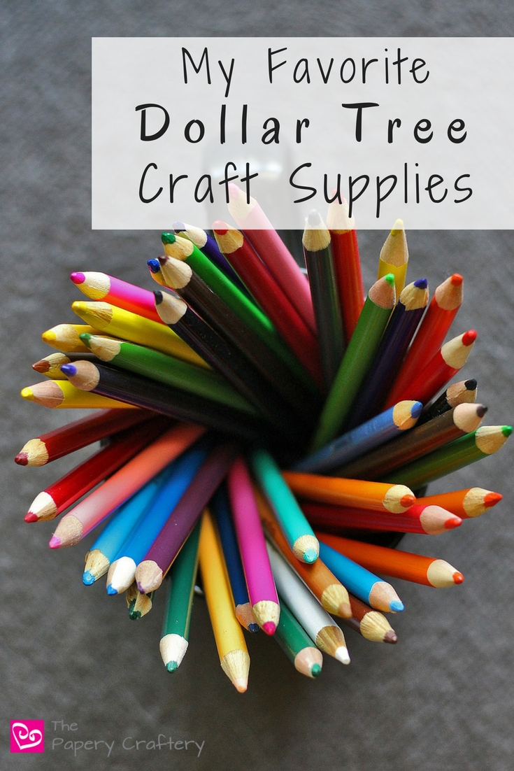 My Favorite Dollar Tree Craft Supplies - A few of my go-to craft finds from the Dollar Tree that save me a little money when I'm feeling creative.