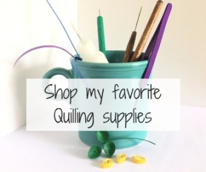 My Favorite Quilling Tools and Resources ~ All the quilling and crafting supplies I keep going back to, again and again! || www.ThePaperyCraftery.com