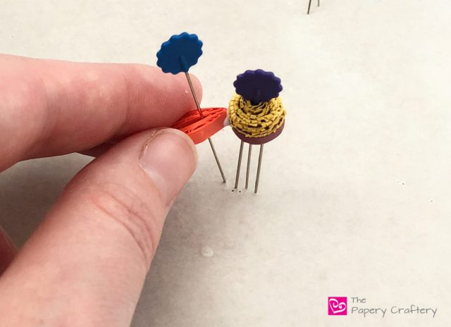Quilling Paper Coneflowers ~ Say goodbye to summer with new quilling techniques for these colorful coneflowers || www.ThePaperyCraftery.com