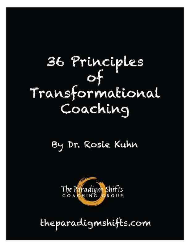 36 Principles of Transformational Coaching
