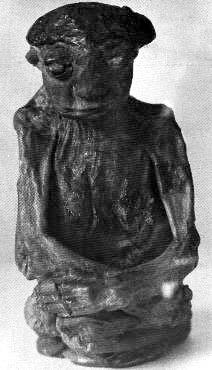 "Pedro Mountain Mummy - 14"" high"