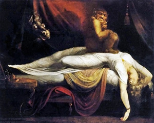 "John Henry Fuseli's ""The Nightmare"""