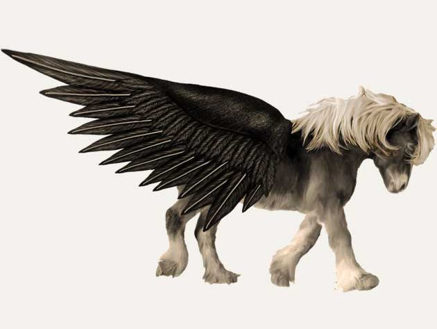 Faerie horse