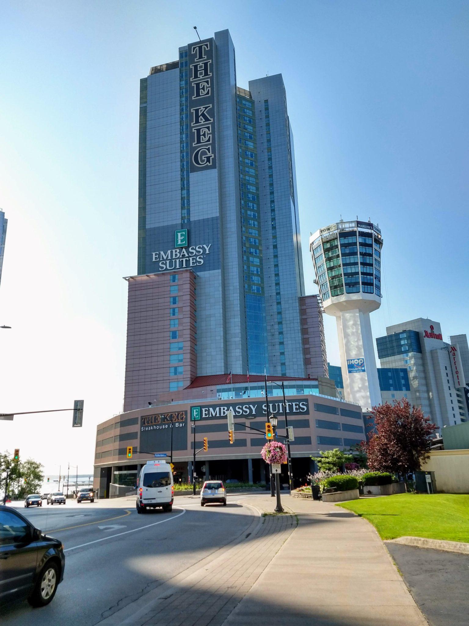 Emabassy Suites Fallsview Hotel Niagara Falls Ontario Canada 2019