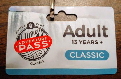 Niagara Parks Adventure Pass Classic