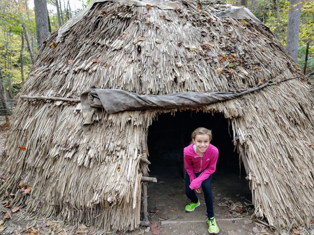 Monacan Outside Museum Natural Bridge State Park VA