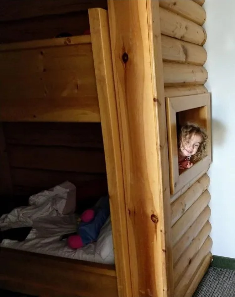 Themed kidcabin suite @ Great Wolf Lodge Poconos