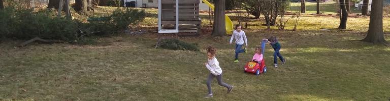 Kids backyard