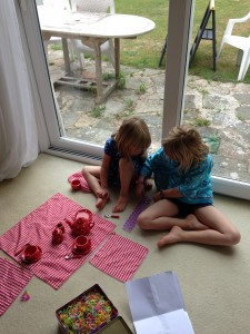 Loom bands and tea parties