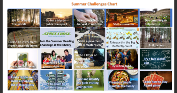 Summer holiday challenges