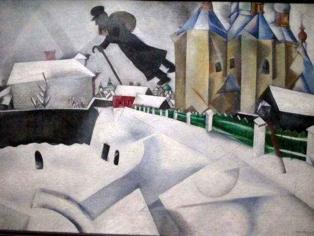 Au dessus de Vitebsk - Chagall
