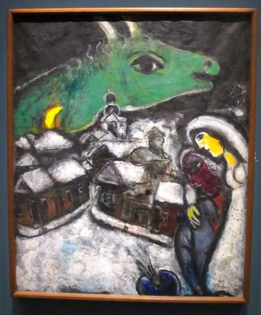 la nuit verte - Chagall