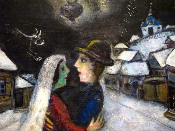Dans la nuit - Chagall
