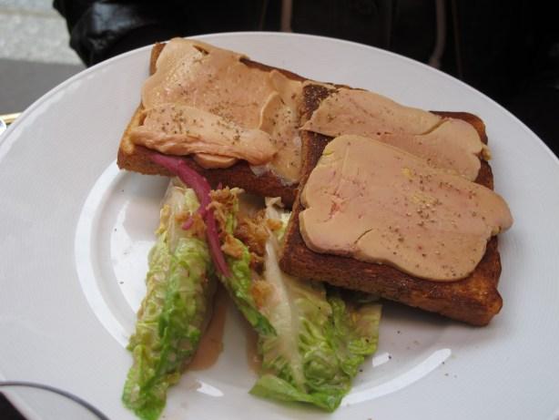 foie gras Le comptoir