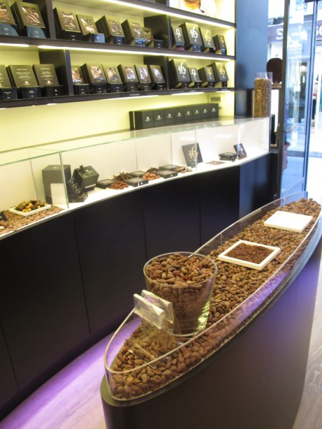 bar à chocolat Marcolini
