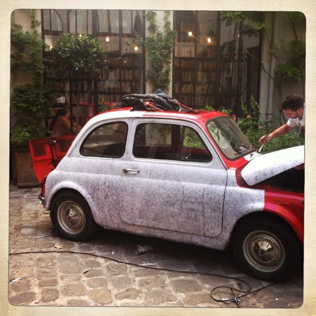 Fiat 500 béton
