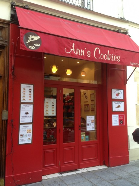 Anns Cookies Facade