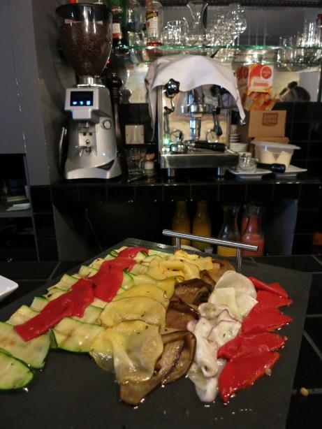 buffet salé VIOLA