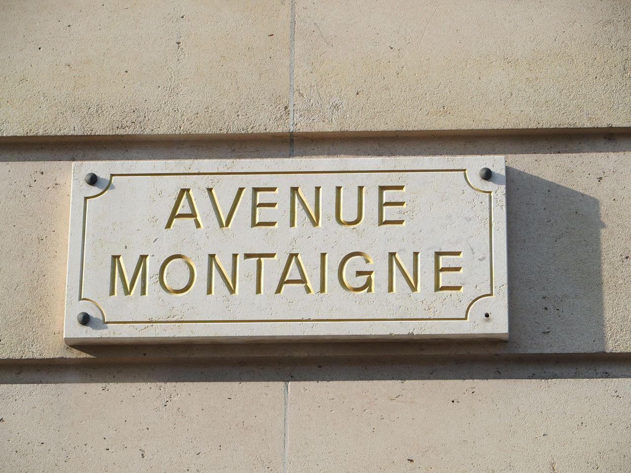 Promenade Avenue Montaigne