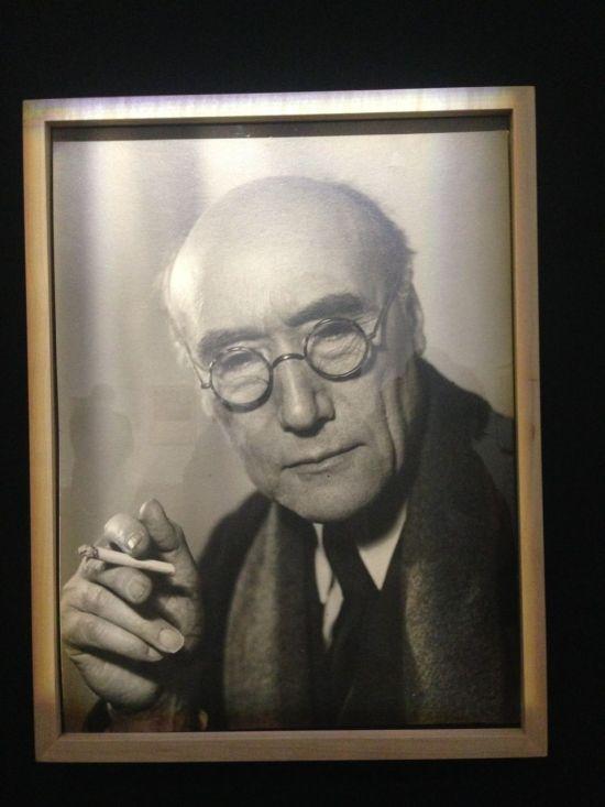 André Gide - portrait par Philippe Halsman