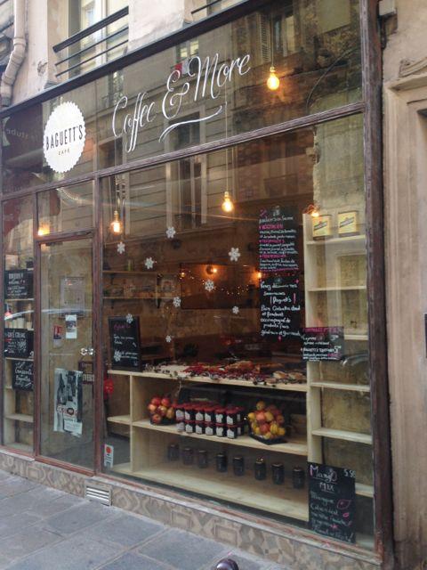 baguett's café - devanture