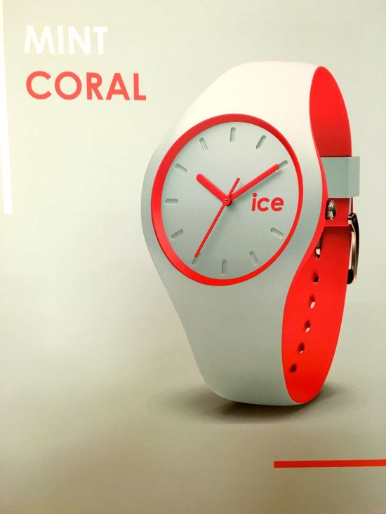 Ice Watch duo mint coral