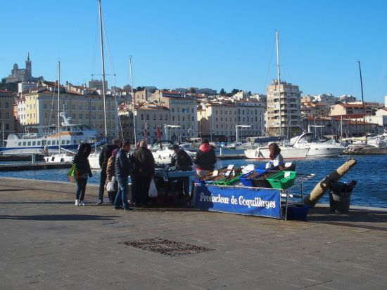 Marseille - le port