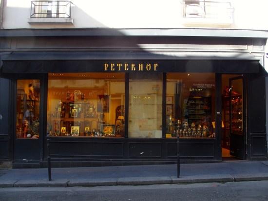 Peterhof - rue du Pas de la Mule