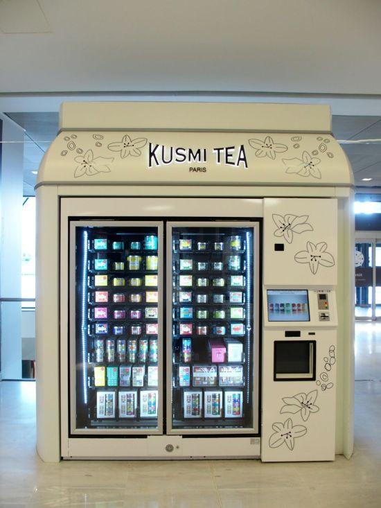Distributeur Kusmi Tea