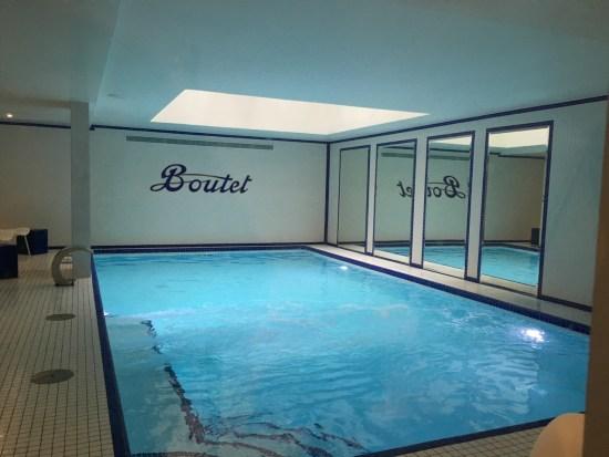 Hôtel Boutet - la piscine