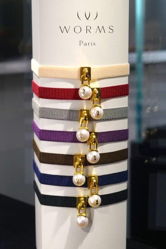 bracelet WORMS Paris - plaqué or