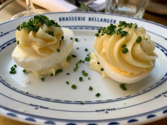Brasserie Bellanger - oeufs mayonnaise