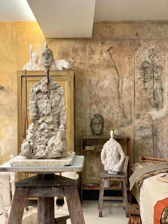Institut Giacometti - l'atelier