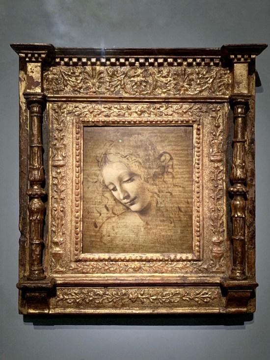 L'échevelée - Leonard de Vinci