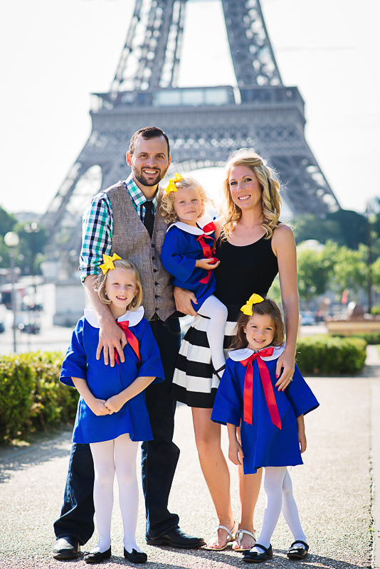 Madeline themed family fairy-tale in Paris 7
