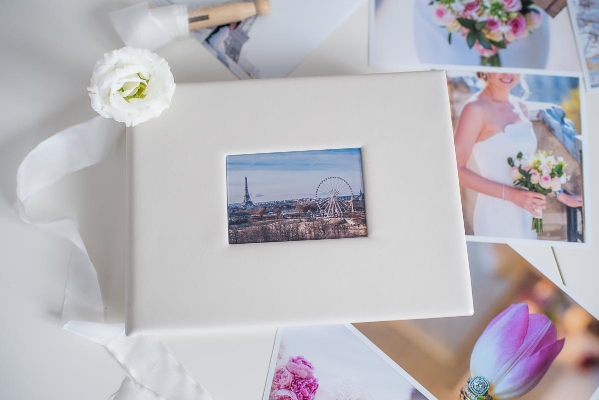 Print box for Paris photo shoot pictures