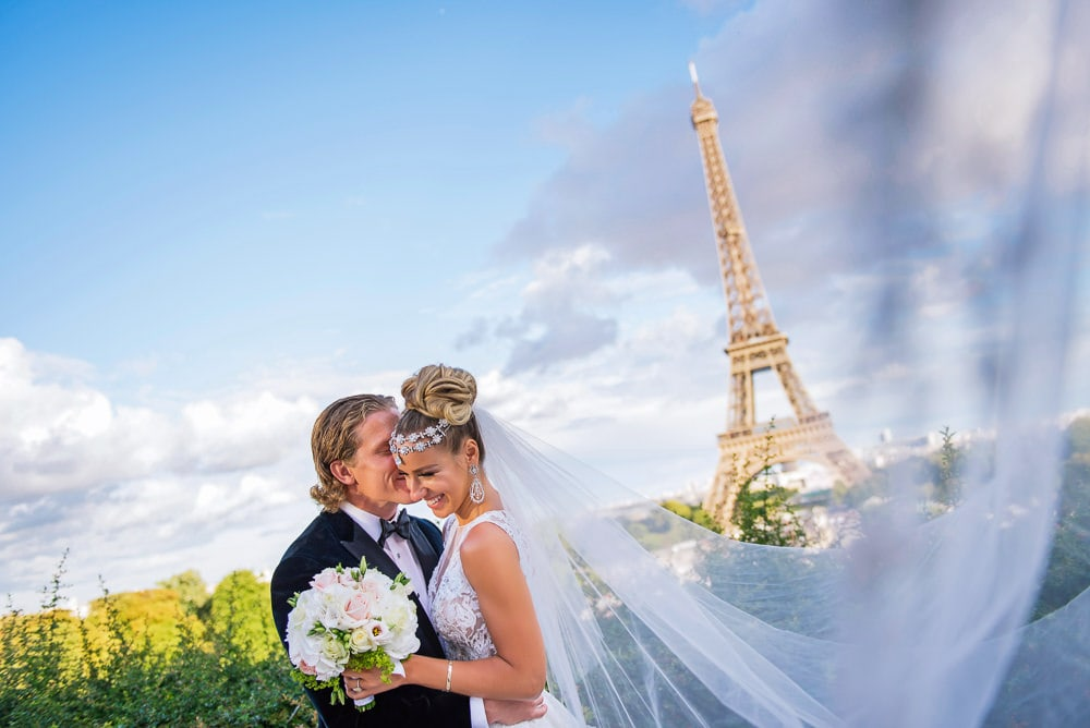 The Peninsula Paris Wedding