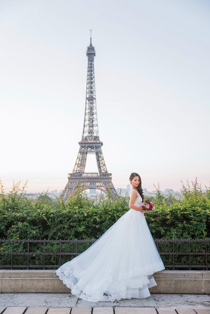 pre wedding photography paris 1