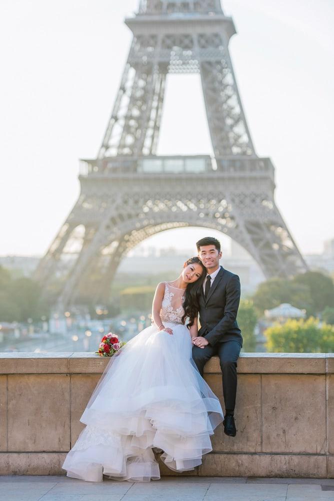 beautiful pre wedding photography paris