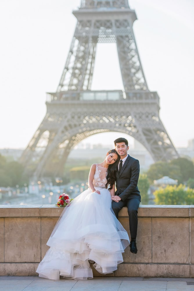 beautiful pre wedding photography paris