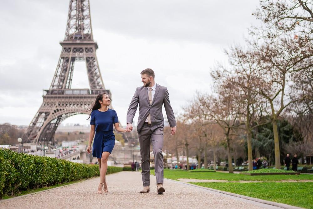Wedding Anniversary Photos in Paris