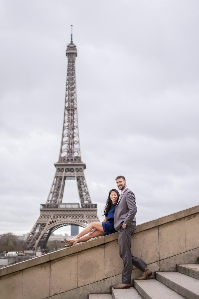 Wedding Anniversary Celebration Photos in Paris